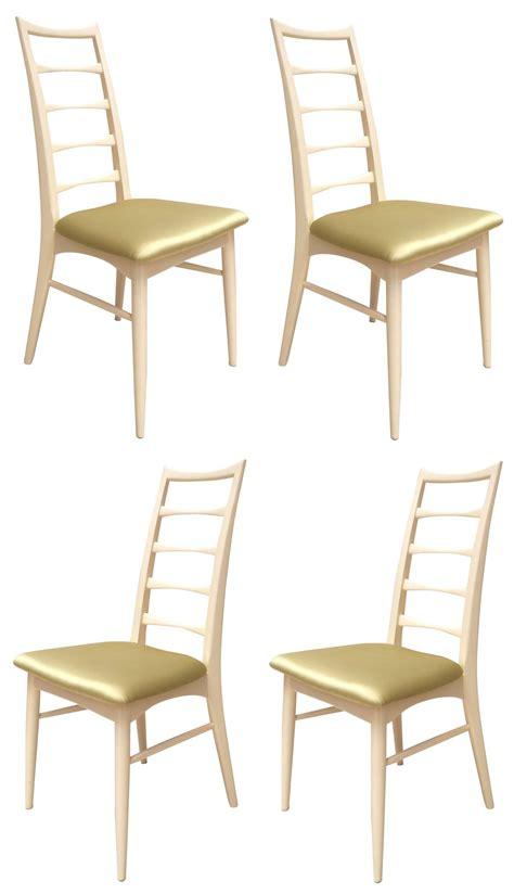 chaises es 50 4 chaises à repas niels koefoeds ées 50 design market