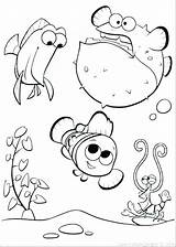 Aquarium Coloring Pages Nemo Tank Finding Army Printable Getcolorings Pa sketch template