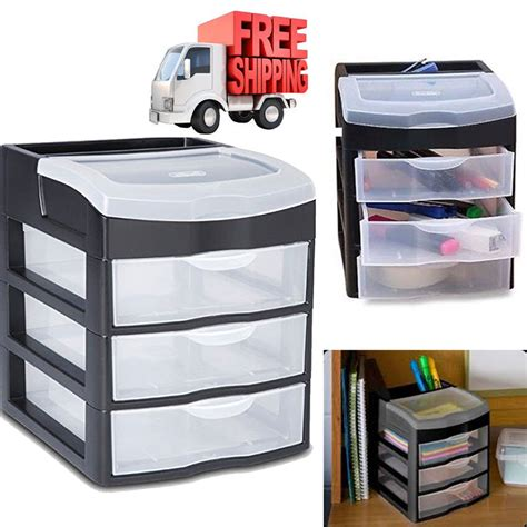 plastic storage drawers clear rack container sterilite box