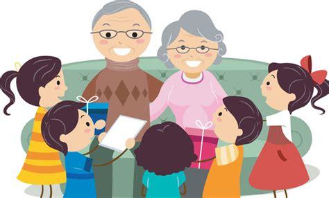 Grandparents Grandparent Clipart Image #22173