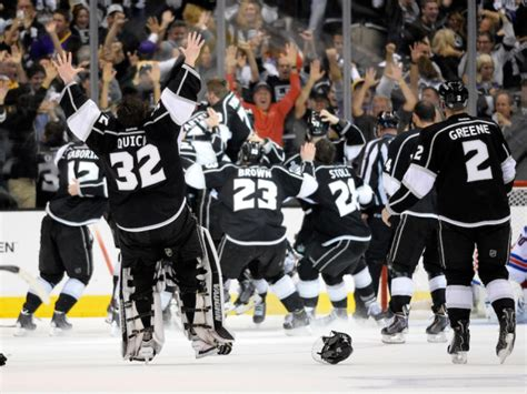 Los Angeles Kings win second Stanley Cup in three years ...