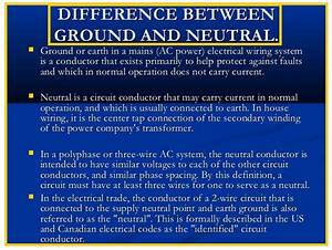 What Is The Difference Between Ground And Neutral
