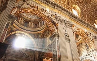 Vatican Wallpapers St Peters Inside Basilica Cave