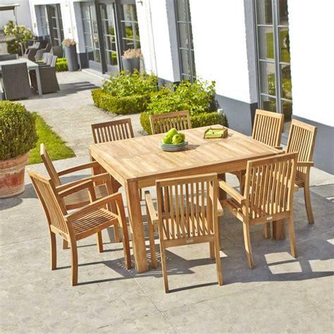 canapé teck jardin mobilier d exterieur en teck