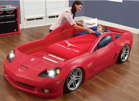 Cars Repurposed As Beds by Corvette Car Bed
