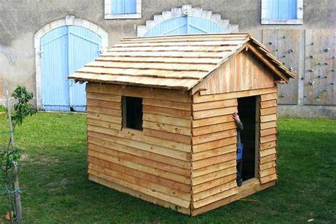 Fabriquer Une Cabane Avec Des Palettes Plus Bel En Comment