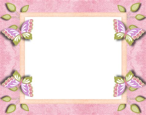 printable butterfly borders