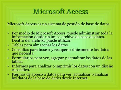 si鑒e de microsoft microsoft access