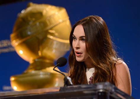 Megan Fox Golden Globe Awards