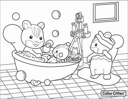 Bathroom Coloring Getdrawings Personal Colorings