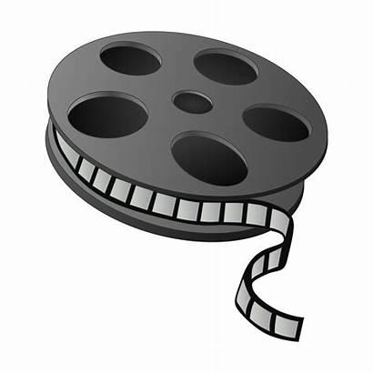 Reel Svg Clipart Film Clip Movies Box