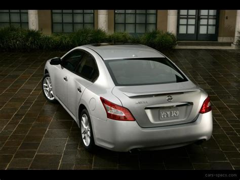 2009 Nissan Maxima Sedan Specifications, Pictures, Prices