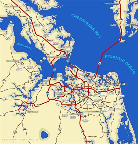 virginia beach  topographic map dealers map