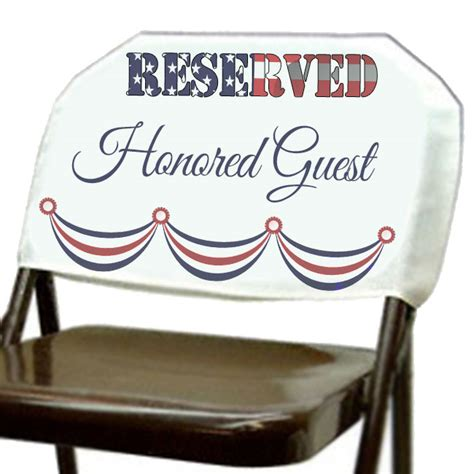 personalized reserved seat cover