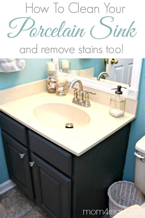 remove stains from porcelain sink how to get a clean porcelain sink and remove rust stains