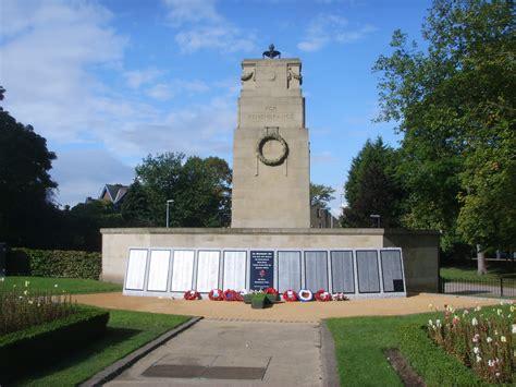 Of Clifton Park by Clifton Park Rotherham War Memorials