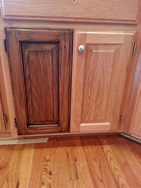 cabinet restaining restaining kitchen cabinets staining
