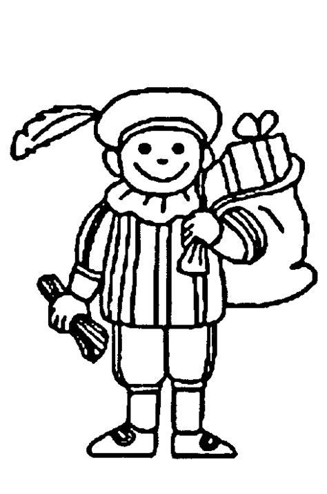 Zwarte Piet Gezicht Kleurplaat by Sinterklaas Kleurplaten