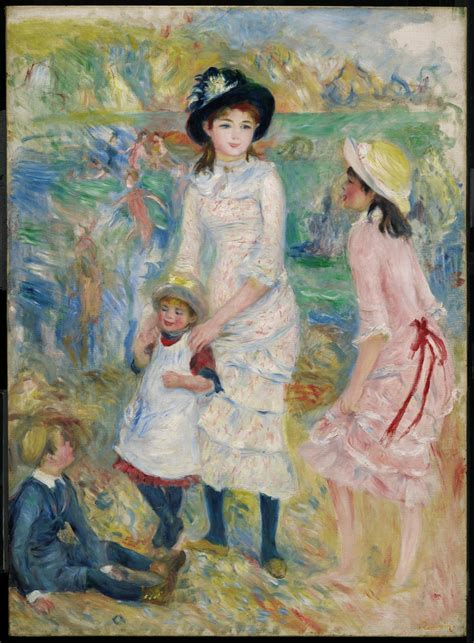 Children On The Seashore Guernsey Museum Of Fine Arts