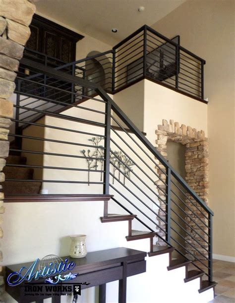 Modern Wrought Iron Stair Railings  Wrought Iron Railings