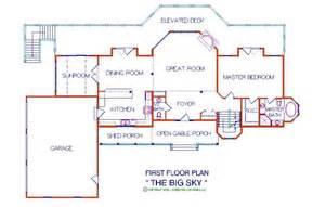 open loft floor plans big sky 3 056 sq ft