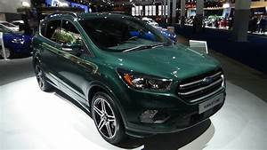 Ford Kuga 2017 St Line : 2017 ford kuga st line exterior and interior auto show brussels 2017 youtube ~ Medecine-chirurgie-esthetiques.com Avis de Voitures