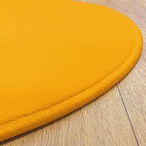 tapis rond jaune tapis rond jaune esprit home colour in With tapis rond jaune