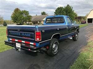 1990 Dodge W250 Cummins 4x4 Rustfree Low Miles Manual