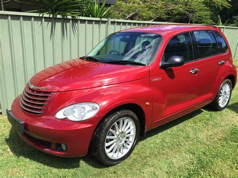 chrysler pt cruiser red  vehicle sales