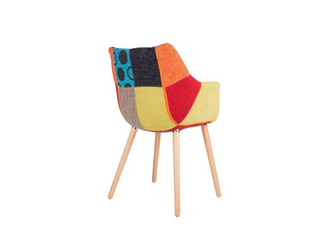 chaise deco chaise design twelve patchwork deco originale chaise