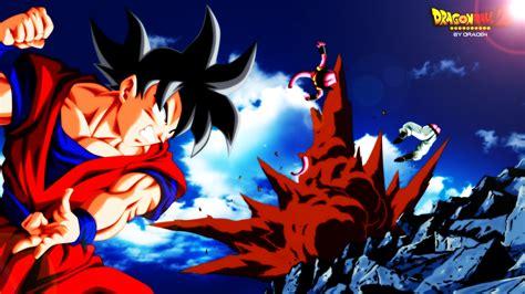 Z Goku At Anime Id 166182 Goku Vs Buu Fondo De Pantalla And Fondo De Escritorio