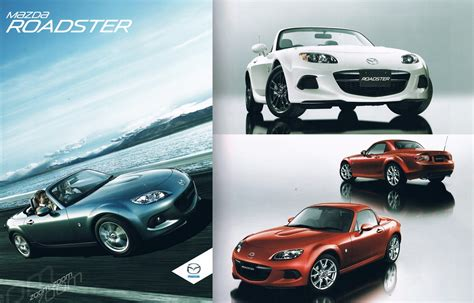 refreshed  mazda mx  leaked  japanese dealer brochure
