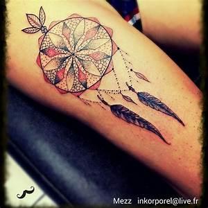 Attrape Reve Tatoo : le tatouage attrape r ves un grand classique ~ Nature-et-papiers.com Idées de Décoration