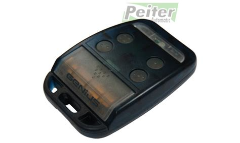 Genius Bravo Remote Control Rolling Code Frequency