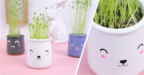 atelier pots kawaii nos ateliers et diy pour enfants diy potted plants diy for