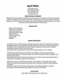 Electrical Assembler Resume - Resume Ideas