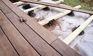 Terrasse Bois Sur Plot Beton : nombre de plots pour terrasse au m2 ~ Premium-room.com Idées de Décoration