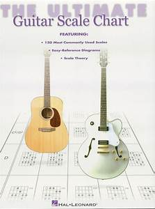 The Ultimate Guitar Scale Chart - Sheet Music