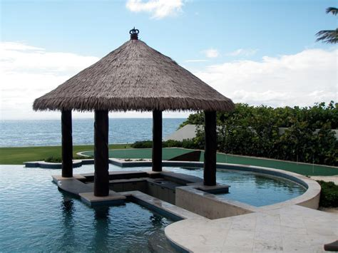 Tiki Hut - tiki hut design landscaping network