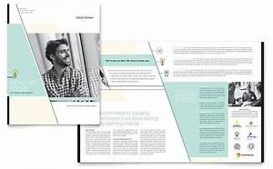 Brochure Word Template Free Venture Capital Firm Brochure Template Design