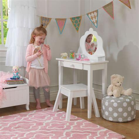coiffeuse en bois coiffeuse en bois et tabouret pour enfant