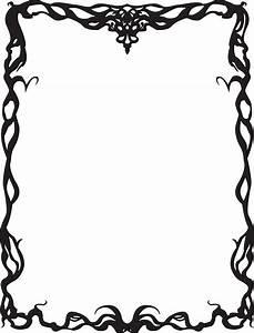 Art Nouveau Page Borders - ClipArt Best