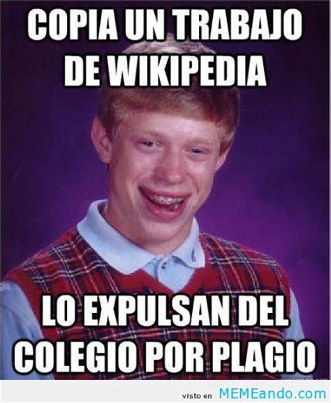 Meme Wikipedia - megapost bad luck brian taringa