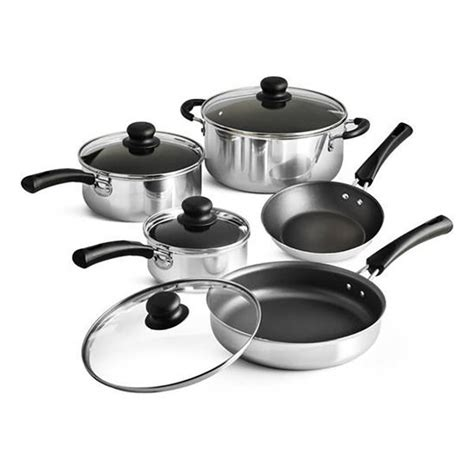 cookware tramontina cooking simple nonstick pans cheap sets piece pots walmart kitchen cheapism easy polished clean affordable under where