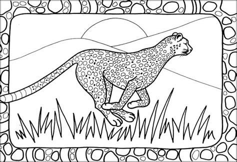 Cheetah Kleurplaat by Kleurplaat 04 Cheetahtravel