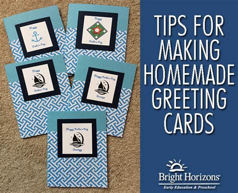 Tips For Making Homemade Greeting Cards