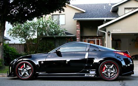 custom black nissan 350z black nissan 350z modified