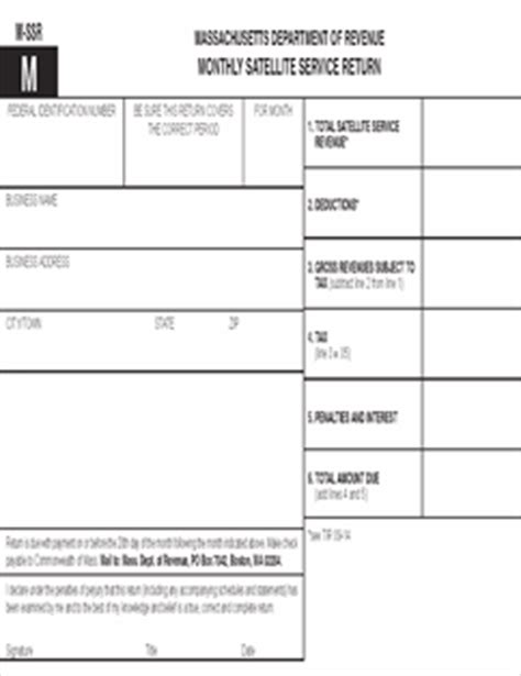 maine revenue services sales and use tax return form form m ssr fillable monthly satellite service return