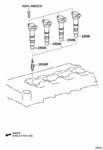 9091901191 - Spark Plug  Interchangeable With 90919a1002  Electrode  Iridium