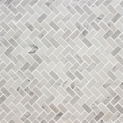 white marble mosaic pedra marble mosaic elegance collection italian carrara white herringbone 5 8 quot x1 1 4 quot polished